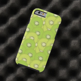 Modelo de la fruta de kiwi funda para iPhone 6 tough