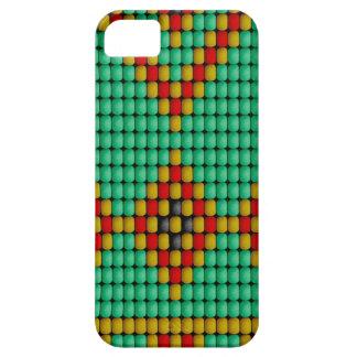 Modelo de la gota del nativo americano iPhone 5 Case-Mate cobertura