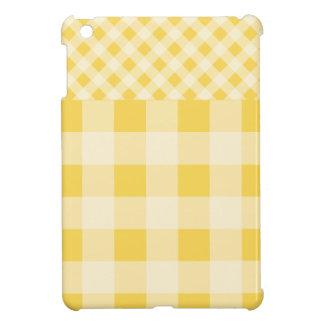 Modelo de la guinga del ánimo de limón iPad mini protector