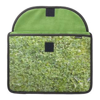 Modelo de la hierba fundas para macbooks