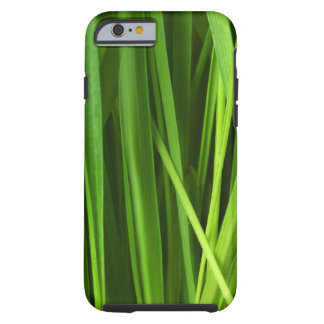 Modelo de la hierba verde funda de iPhone 6 tough