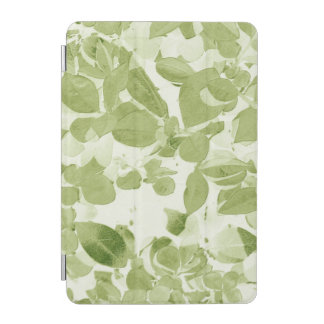 Modelo de la hoja de la verde salvia, vintage cubierta de iPad mini