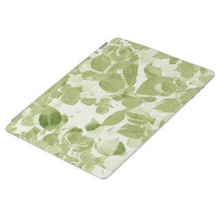 Modelo de la hoja de la verde salvia, vintage cover de iPad
