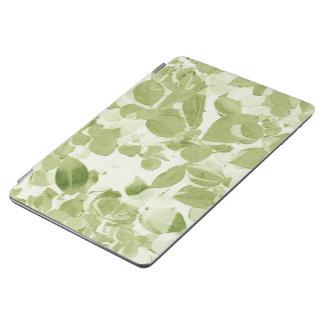 Modelo de la hoja de la verde salvia, vintage cubierta de iPad air