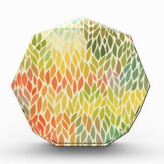 modelo de la hoja del multicolor, arte de moda,