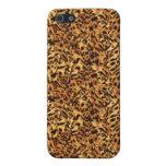 Modelo de la impresión de la piel del leopardo iPhone 5 funda
