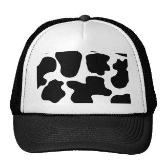 Modelo de la impresión de la vaca gorra