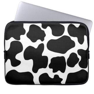 Modelo de la impresión de la vaca manga computadora