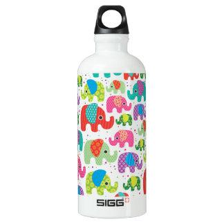 Modelo de la India del elefante Botella De Agua
