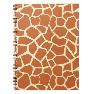 Modelo de la jirafa de Brown Libro De Apuntes