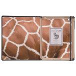 Modelo de la jirafa iPad carcasa