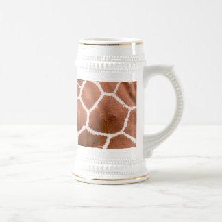 Modelo de la jirafa jarra de cerveza