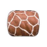 Modelo de la jirafa jarrones de dulces