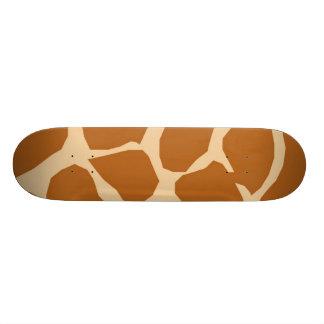 Modelo de la jirafa monopatin