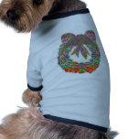 Modelo de la joya del diamante de la guirnalda por camiseta de perrito