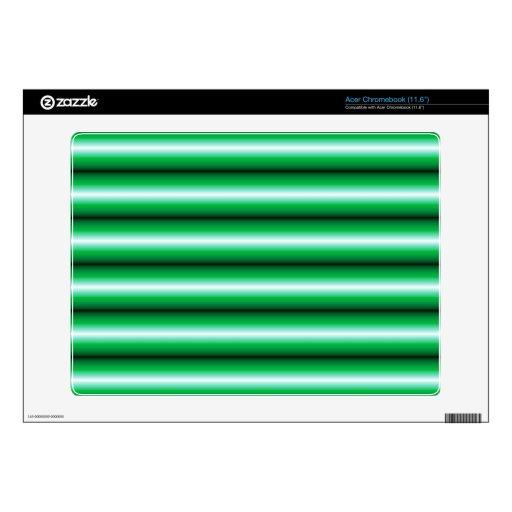 Modelo de la Línea Verde Acer Chromebook Skins