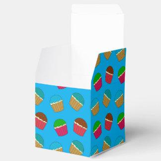 Modelo de la magdalena del azul de cielo cajas para regalos
