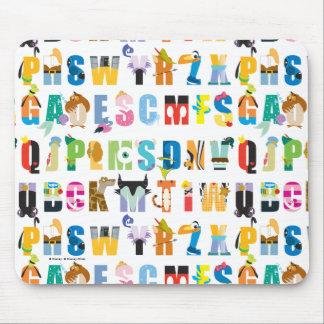 Modelo de la manía del alfabeto de Disney Tapete De Ratones