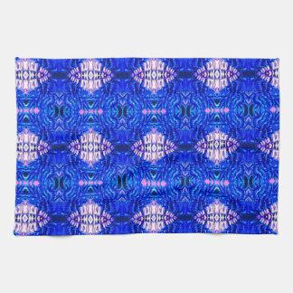 modelo de la manta del tiedye del hippie de la are toallas de cocina