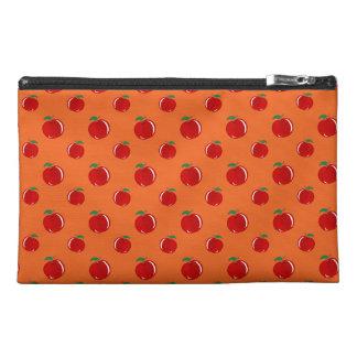 Modelo de la manzana del rojo anaranjado