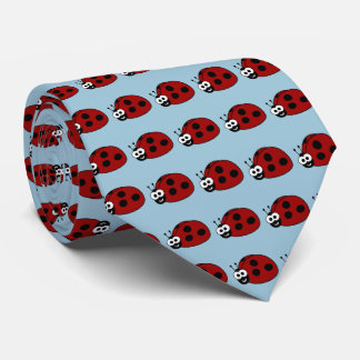 Modelo de la mariquita corbatas personalizadas