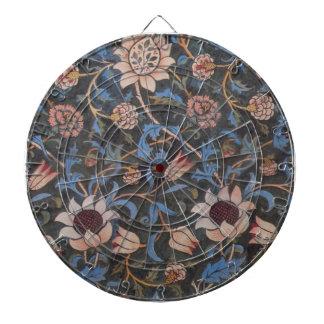 Modelo de la materia textil de William Morris Even Tablero De Dardos