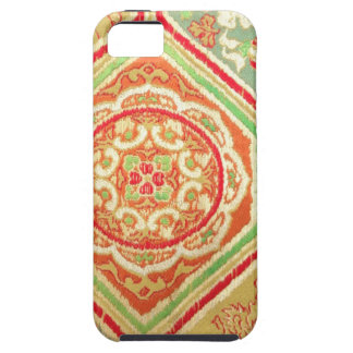 modelo de la materia textil iPhone 5 protectores
