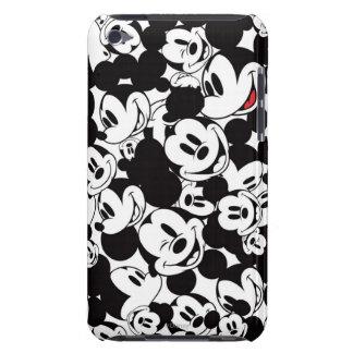 Modelo de la muchedumbre de Mickey iPod Touch Case-Mate Cobertura