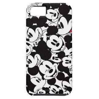 Modelo de la muchedumbre de Mickey Mouse el   Funda Para iPhone 5 Tough