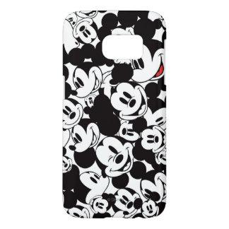 Modelo de la muchedumbre de Mickey Mouse el | Funda Samsung Galaxy S7