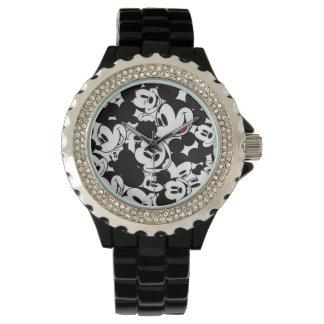 Modelo de la muchedumbre de Mickey Mouse el | Reloj De Mano