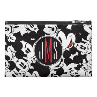 Modelo de la muchedumbre del monograma de Mickey