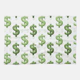 Modelo de la muestra de dólar toallas