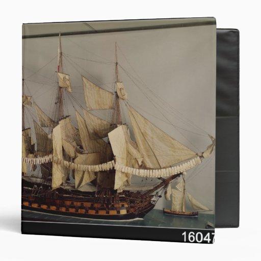 "Modelo de la nave 'L'Achille Carpeta 1 1/2"""