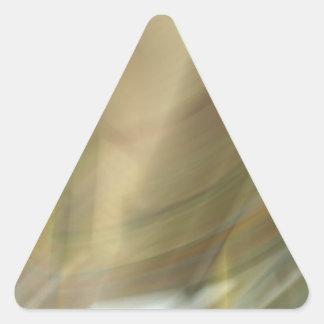 Modelo de la nube del gas colcomanias de triangulo
