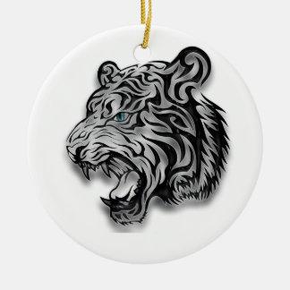 Modelo de la pantera del estampado leopardo de Jag Ornamento De Reyes Magos