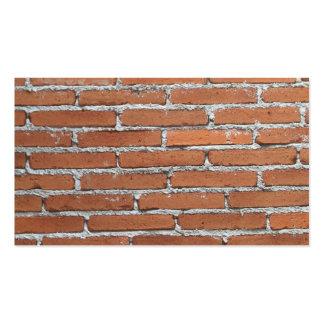 Modelo de la pared de ladrillo