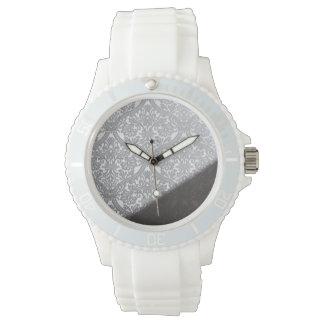 modelo de la pared del damasco relojes de mano