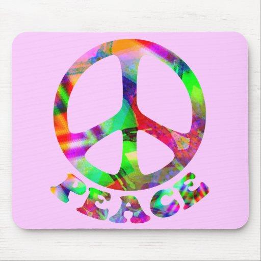 Modelo de la paz Mousepad