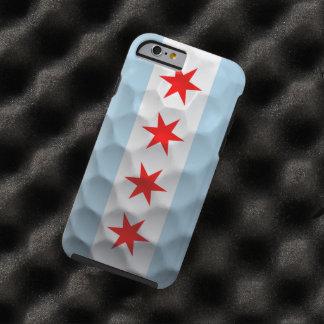 Modelo de la pelota de golf de la bandera de funda para iPhone 6 tough