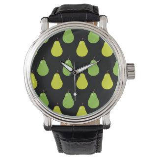 Modelo de la pera relojes de pulsera