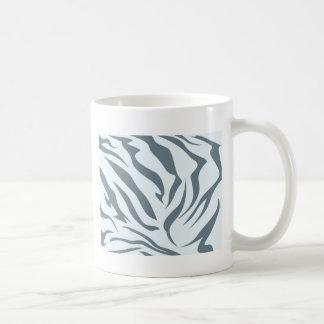 Modelo de la piel del Hyena rayado Taza De Café