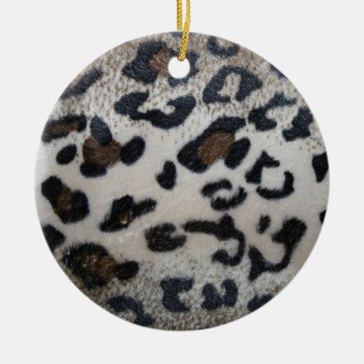 Modelo de la piel del leopardo adornos