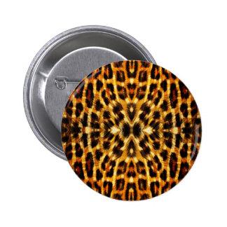 Modelo de la piel del leopardo pin