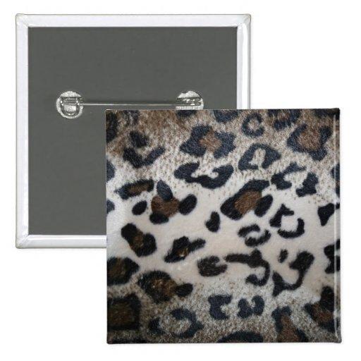 Modelo de la piel del leopardo pins