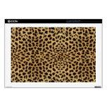 Modelo de la piel del leopardo calcomanía para portátil