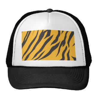Modelo de la piel del tigre gorra