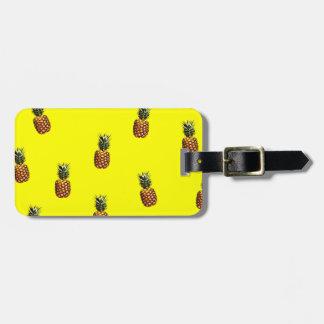 modelo de la piña etiquetas bolsa