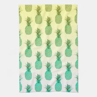 Modelo de la piña - toalla de cocina