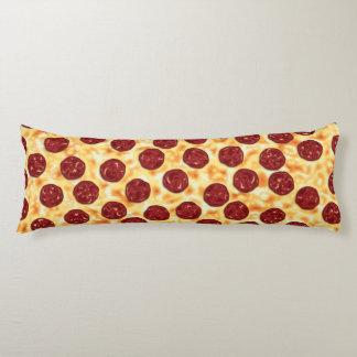 Modelo de la pizza de salchichones cojin cama
